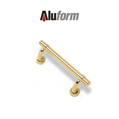 A 416 Aluform maniglione ottone oro PVD per porte