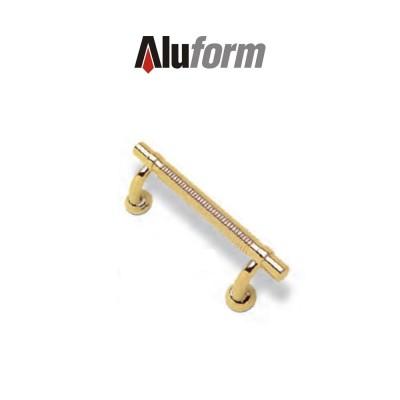 A 417 Aluform maniglione ottone oro PVD per porte