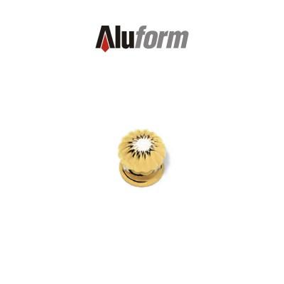 Pomolo fisso cromo satinato Aluform art. A430