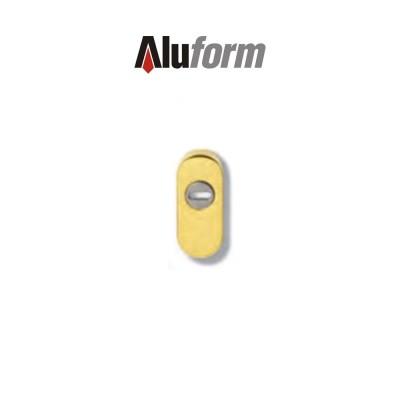 A 476 Aluform bocchetta ottone oro PVD per porte