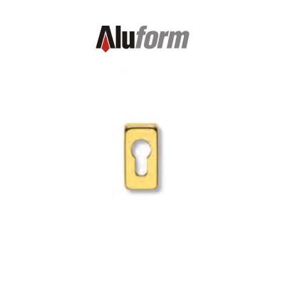 A 479 Aluform bocchetta ottone oro PVD per porte