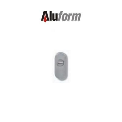 A 576 Aluform bocchetta ottone cromo satinato per porte
