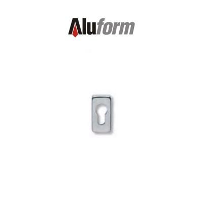 A 579 Aluform bocchetta ottone cromo satinato per porte