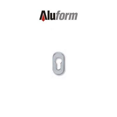 A 580 Aluform bocchetta ottone cromo satinato per porte