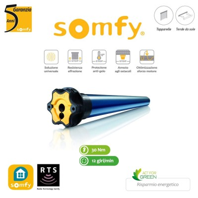 Motore per tapparelle Somfy Altus M RTS 30/12 art. 1045555