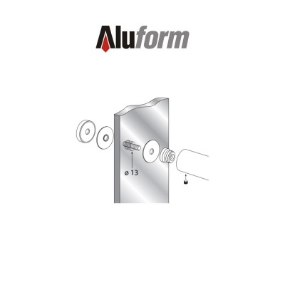 Fissaggio singolo Aluform art. ATP5CS