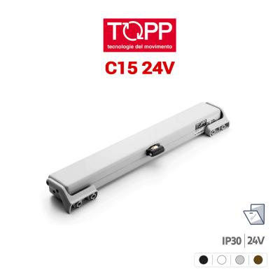 C15 24V Topp attuatore a catena per finestre vasistas e lucernari