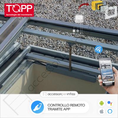 KIT APP SOLUTION - C20 Topp - Controllo remoto tramite APP - Compatibile con Google Assistant e Amazon Alexa