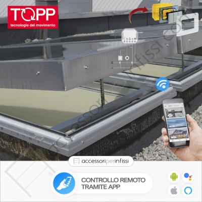 KIT APP SOLUTION - C25 Topp - Controllo remoto tramite APP - Compatibile con Google Assistant e Amazon Alexa
