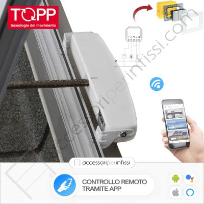 KIT APP SOLUTION - C30 Topp - Controllo remoto tramite APP - Compatibile con Google Assistant e Amazon Alexa