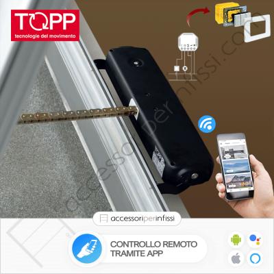 KIT APP SOLUTION - C40 Topp - Controllo remoto tramite APP - Compatibile con Google Assistant e Amazon Alexa