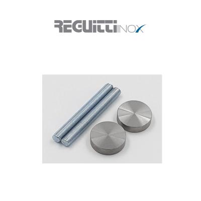 CDK04 Reguitti kit di fissaggio con perno passante per alluminio, legno e vetro