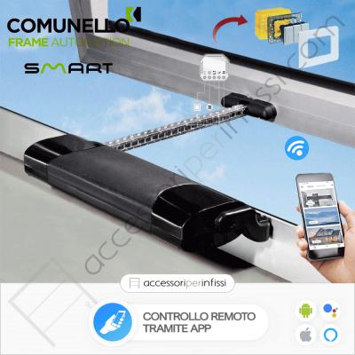 KIT APP SOLUTION - SMART Comunello - Controllo remoto tramite APP - Compatibile con Google Assistant e Amazon Alexa