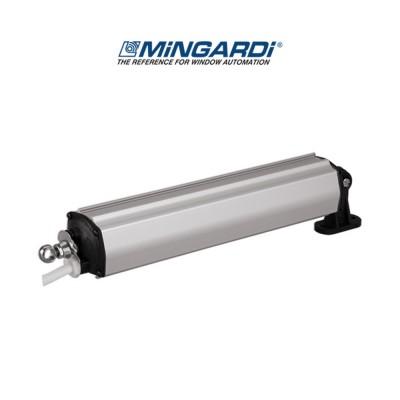 "Motore attuatore a stelo Mingardi D4 Fce corsa 180 mm ""T"" 230 V 200 N art. 2700002"