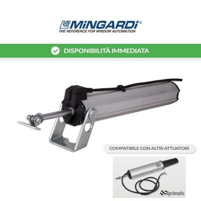 Motore attuatore a stelo Mingardi D8 Fce corsa 300 mm 230 V 500 N art. 2700293