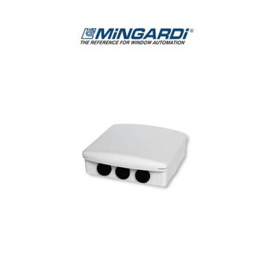 Ricevente radio esterna controllo 1 motore Mingardi GO-ER Bianca art. 2211016