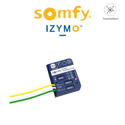 Trasmettitore per interruttori e pulsanti Somfy Izymo Transmitter IO art. 1822609