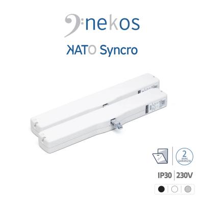 KATO SYNCRO³ 230V Nekos coppia attuatori a catena per finestre vasistas e lucernari