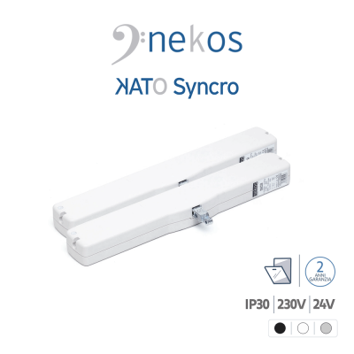 KATO SYNCRO³ Nekos coppia attuatori a catena per finestre vasistas e lucernari