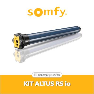 KIT ALTUS RS io Somfy - Motore radio per tapparelle e tende da sole