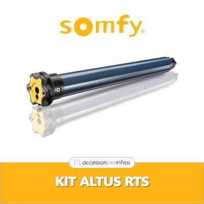 KIT ALTUS RTS Somfy - Motore radio per tapparelle e tende da sole