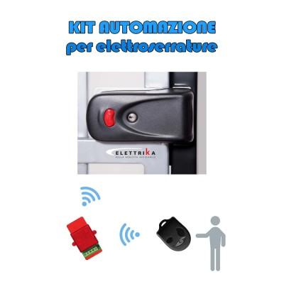 Kit automazione per elettroserrature