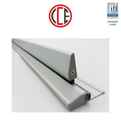 Kit gocciolatoio e soglia CCE Ulisse paraspiffero lunghezza 1030-1330 mm