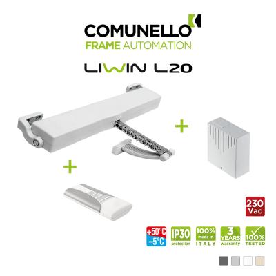 KIT COMUNELLO LIWIN L20 attuatore a catena + telecomando monocanale + unità di controllo con ricevente