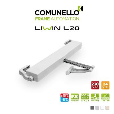 LIWIN L20 Comunello - Attuatore elettrico a catena per finestre vasistas e a sporgere