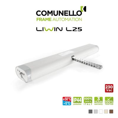 LIWIN L25 Comunello | Attuatore elettrico a catena per finestre vasistas e a sporgere