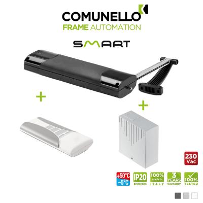 KIT COMUNELLO SMART attuatore elettrico a catena + telecomando monocanale + unità di controllo con ricevente
