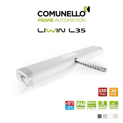 LIWIN L35 Comunello | Attuatore elettrico a catena per finestre vasistas e a sporgere