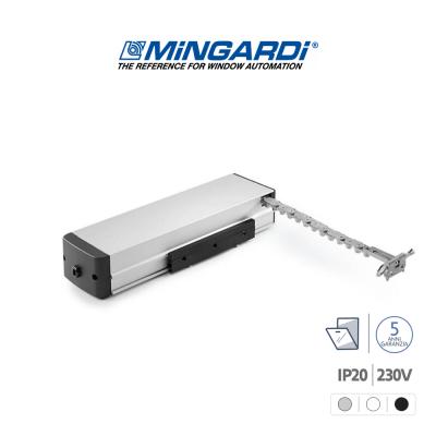MICRO 02 230V Mingardi attuatore a catena per finestre vasistas e a sporgere