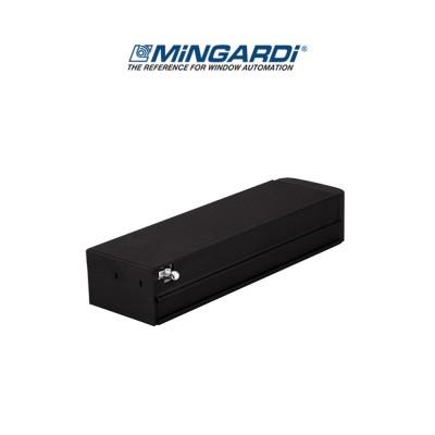 Motore attuatore a catena Mingardi Micro 02 corsa 250/365 mm 230 V 150/300 N Nero art. 2700469