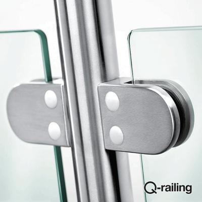 Morsetto per vetro Q-Railing MOD 22 art. 14.2200.000.12