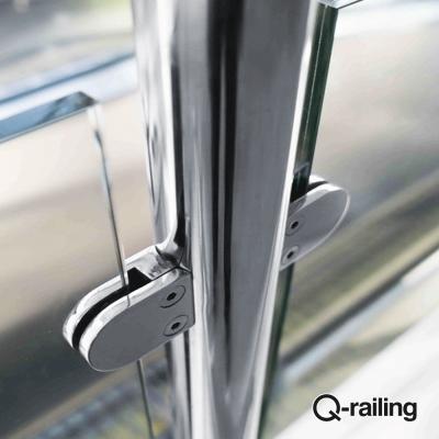 Morsetto per vetro Q-Railing MOD 27 art. 14.2700.000.12
