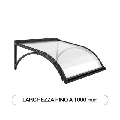 Modello G pensilina a sbalzo modulare per esterni - Larghezza fino a 1000 mm