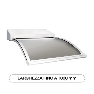 Modello J pensilina a sbalzo modulare per esterni - Larghezza fino a 1000 mm