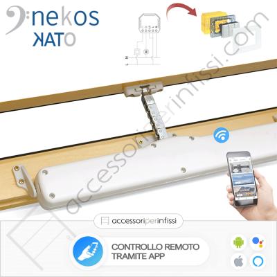 KIT APP SOLUTION - KATO Nekos - Controllo remoto tramite APP - Compatibile con Google Assistant e Amazon Alexa
