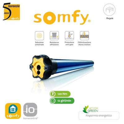 Motore per pergole Somfy Pergola 60 IO 120/12 art. 1167193