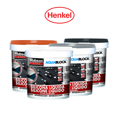 RUBSON SL3000 AQUABLOCK Henkel silicone liquido