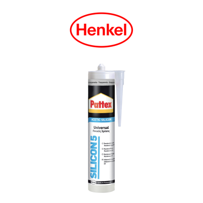 Sigillante Henkel Pattex Silicon 5 Trasparente art. 1534267