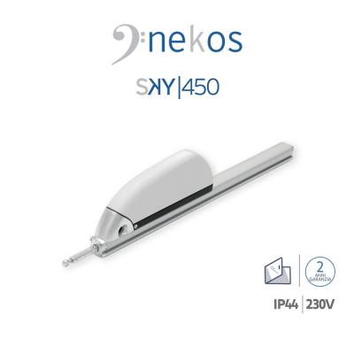SKY 450 Nekos attuatore a cremagliera per lucernari e cupole