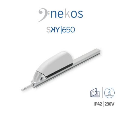 SKY 650 230V Nekos attuatore a cremagliera per lucernari e cupole