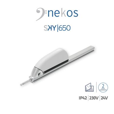SKY 650 Nekos attuatore a cremagliera per lucernari e cupole