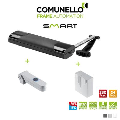KIT COMUNELLO SMART attuatore a catena + sensore pioggia + unità controllo senza ricevente