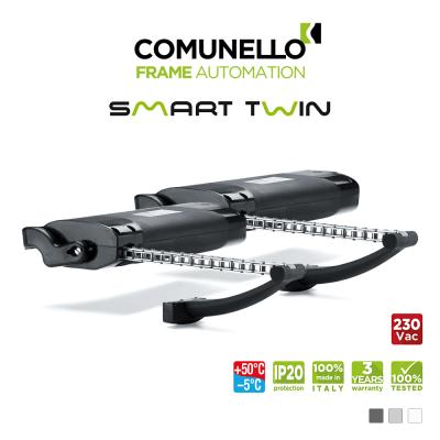 SMART TWIN Comunello | Kit 2 attuatori elettrici a catena per finestre vasistas e a sporgere