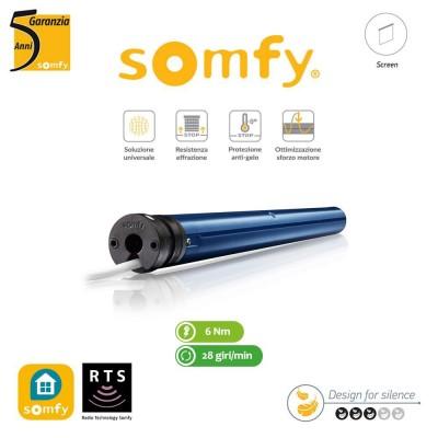 Motore per tende interne Somfy Sonesse 50 RTS 6/28 art. 1001787