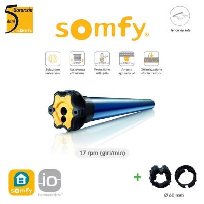 Motore per tende da sole Somfy Radio Sunilus 50 IO 25/17 art. 1043363