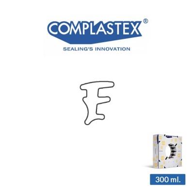 Guarnizione vetro interna Complastex serie UP Bianca 3 mm art. UP3/F